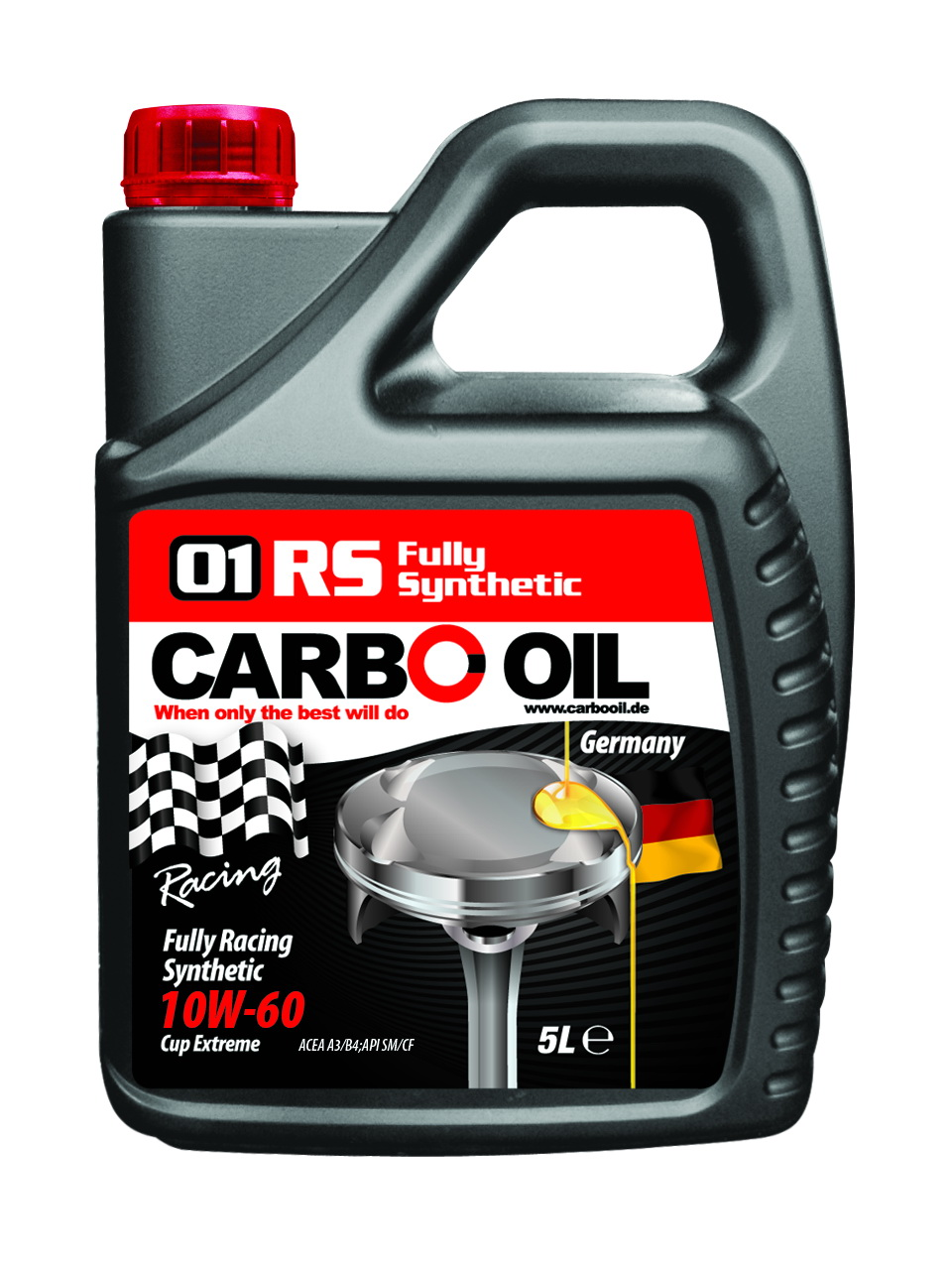 01 rs fully racing synthetic 5l 10w 60 0671 carbo oil for Synthetic motor oil sale